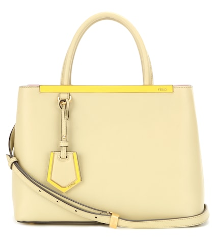 fendi female 2jours petite leather tote