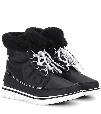 Cozy Carnival ankle boots