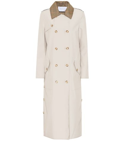 Claremont reversible trench coat