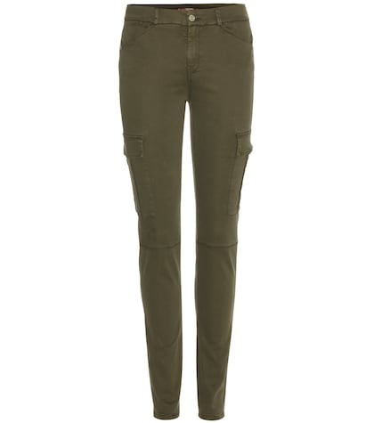 7 for all mankind female 227429 the skinny cargo trousers