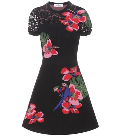 valentino female knitted dress