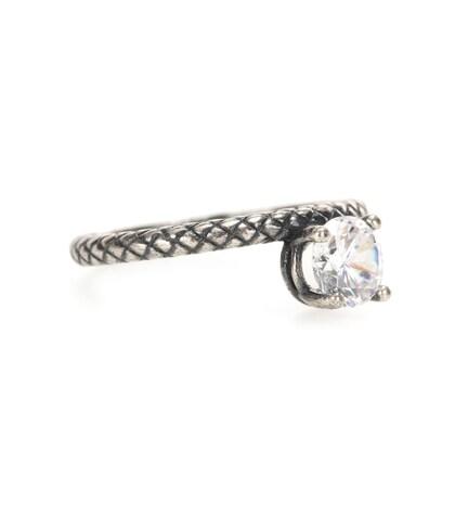 bottega veneta female 45900 intrecciato ring