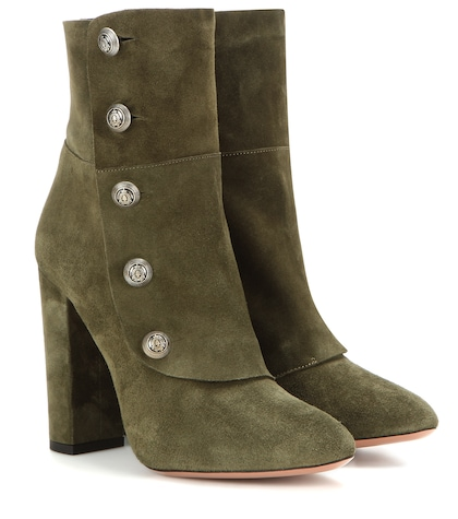 Private Boot 105 Suede Ankle Boots