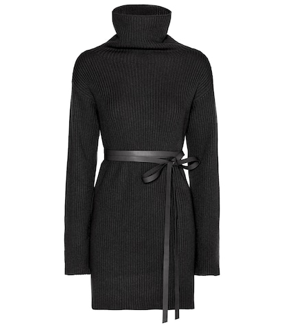 Virgin Wool And Cashmere Sweater Dress
