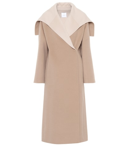 agnona female wool and cashmere coat