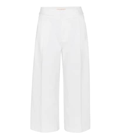 marni female wideleg cropped jeans