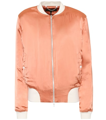 Morton satin bomber jacket