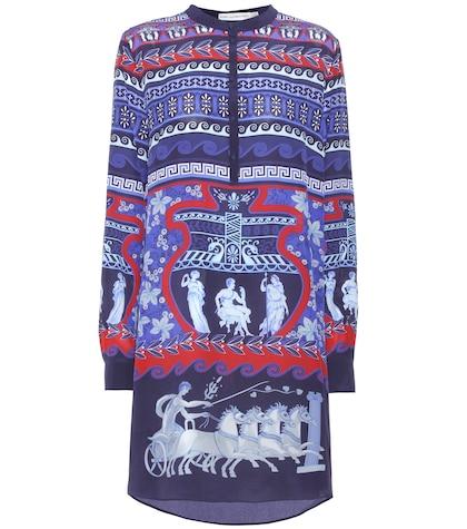 Hellas silk dress