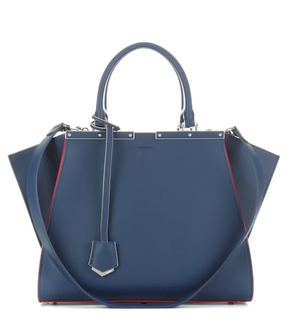 fendi female 3jours leather tote