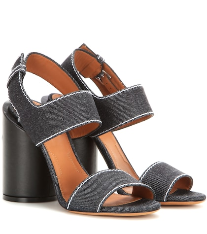 Photo of Edgy Denim Sandals Givenchy online