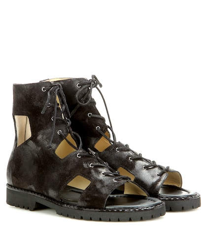 Mytheresa.com Exclusive Wicke Suede Lace-up Sandals