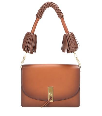 altuzarra female 211468 ghianda leather shoulder bag