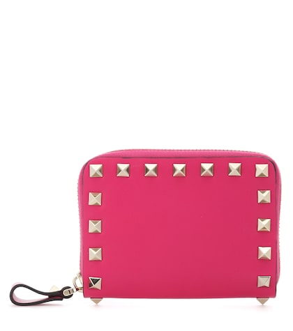 Valentino Garavani Rockstud leather wallet
