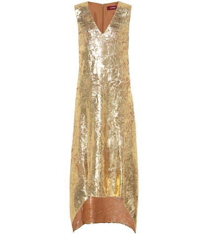 Gwen metallic dress