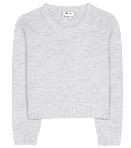 acne studios female mindy wool sweater