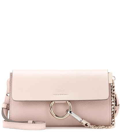 Faye Mini Leather Wallet Bag
