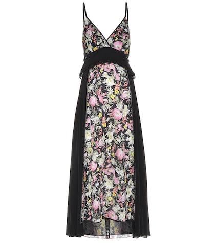 31 phillip lim female floralprinted silk dress