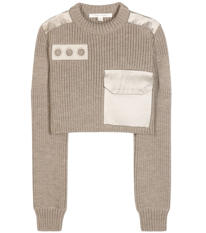 marc jacobs female embellished wool sweater