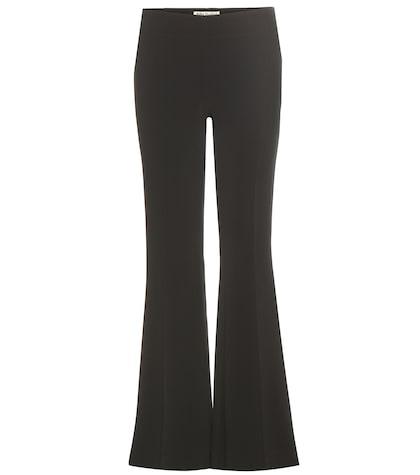 acne studios female mello crepe trousers