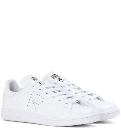 adidas by raf simons female stan smith leather sneakers