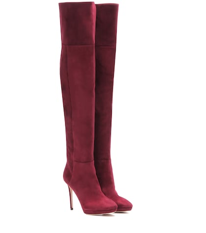 Hayley 100 Over-the-knee Suede Boots