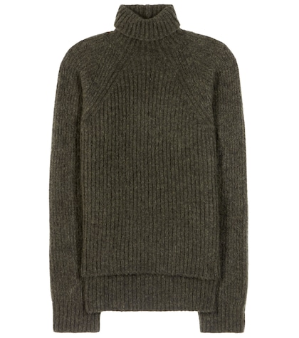 Mohair And Wool-blend Turtleneck Sweater