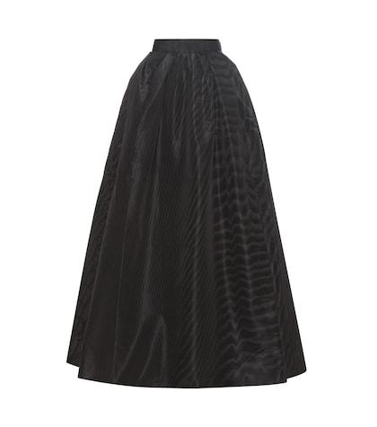 marc jacobs female pleated silkmoire skirt