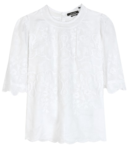 Rumba Embroidered Top