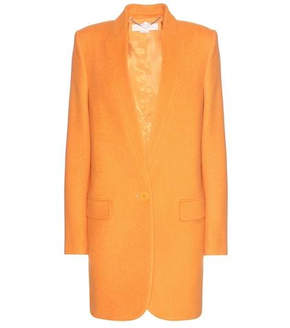 stella mccartney female 240769 woolblend coat