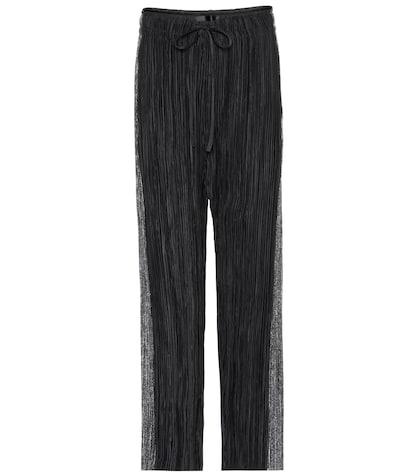 haider ackermann female plisse trousers