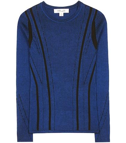 diane von furstenberg female woolblend sweater