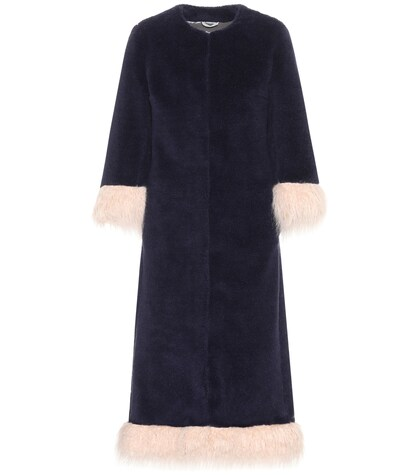 Ramsey wool-blend coat