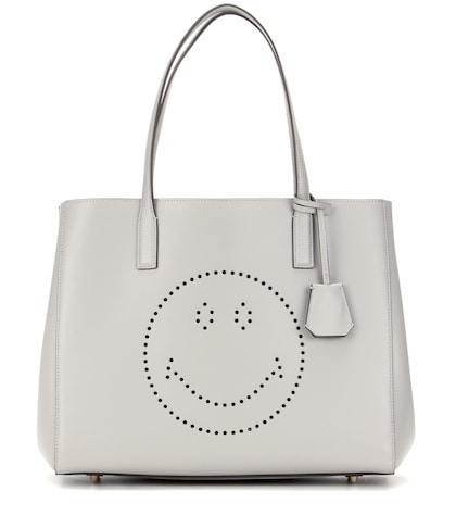 anya hindmarch female ebury smiley shopper