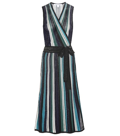 diane von furstenberg female cadenza striped dress