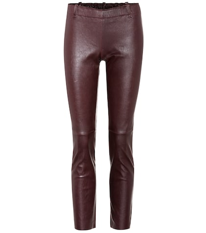 Mick leather trousers