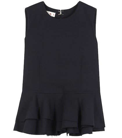 marni female crepe top