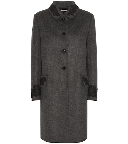 miu miu female 45906 wool coat