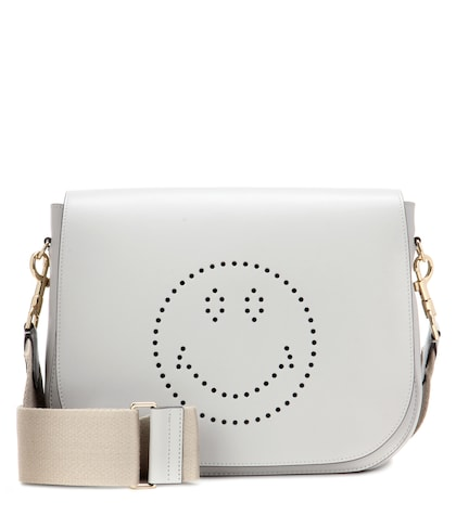 Smiley Ebury Satchel Leather Shoulder Bag