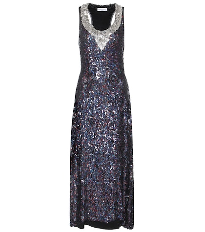Disco Sequin-embellished Dress