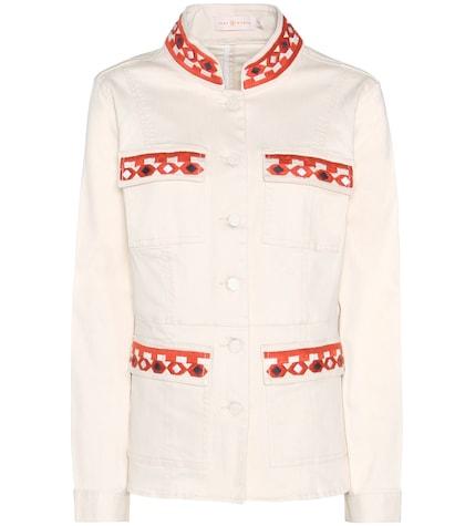 Berkely embroidered denim jacket