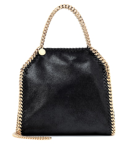 Stella Mccartney Mini Falabella Shaggy Deer Shoulder Bag