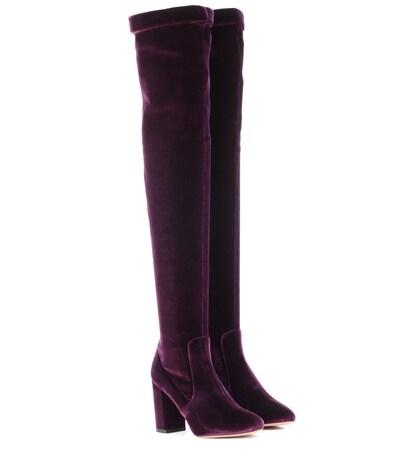 So Me 85 velvet boots