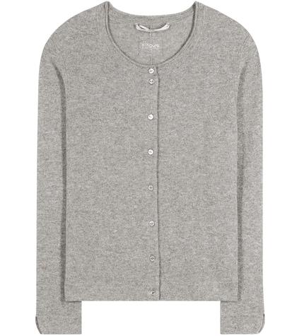 81hours female 45906 carbon cashmere cardigan