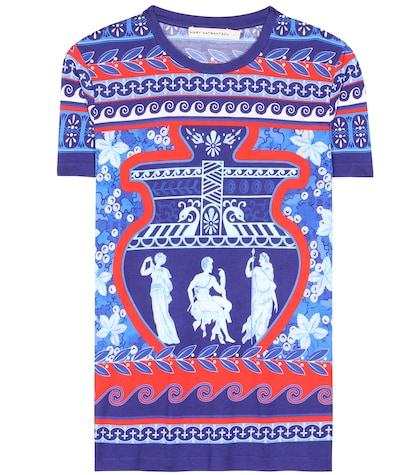 Iven Printed Jersey T-shirt
