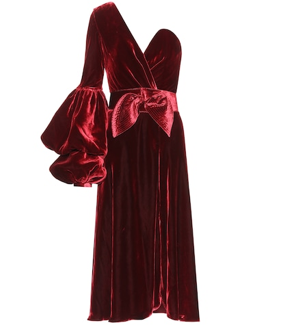 Sabina velvet dress