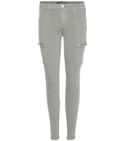 Kassidy Mid-rise Skinny Cargo Trousers