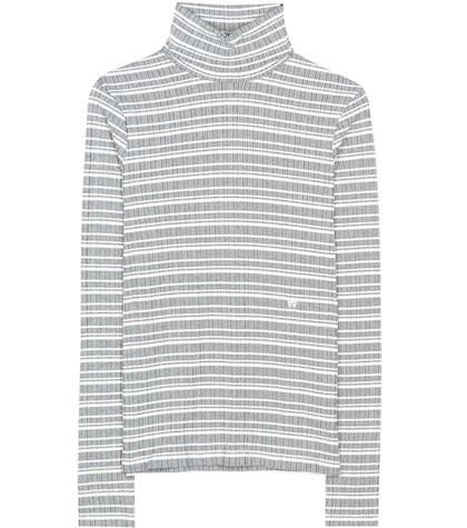 Theresa Cotton Turtleneck Sweater