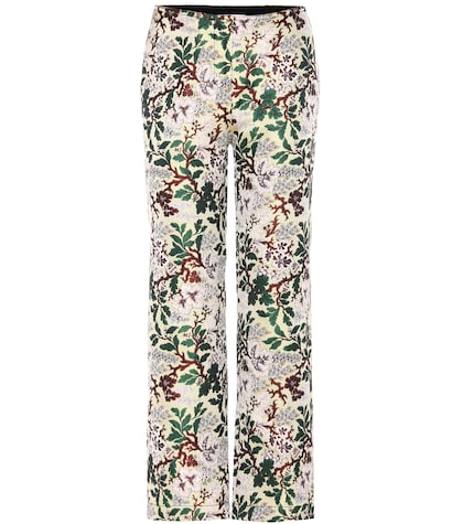 philosophy di lorenzo serafini female jacquard trousers