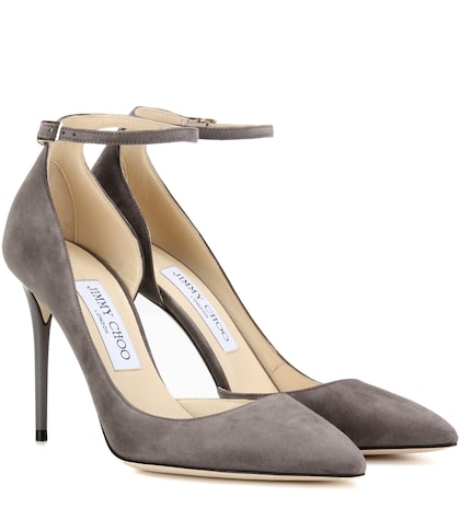 Lucy 100 suede pumps