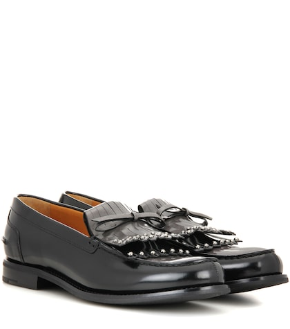 Rachel leather loafers